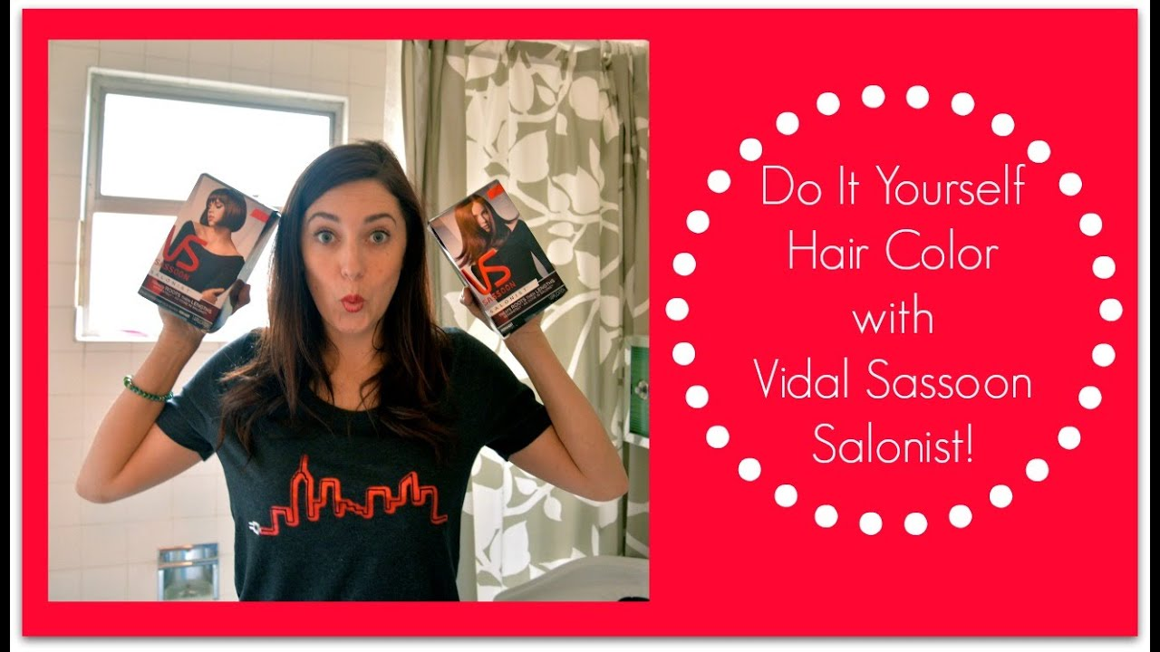 How To Color Your Hair With Vidal Sassoon Salonist Mystylepill