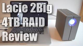 Lacie 2Big 4TB Quadra RAID USB 3.0 Drive Review & Speed Test