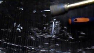 Пайка алюминия | Ремонт алюминиевого радиатора(, 2016-02-05T20:36:56.000Z)