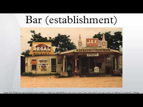 Bar (establishment)