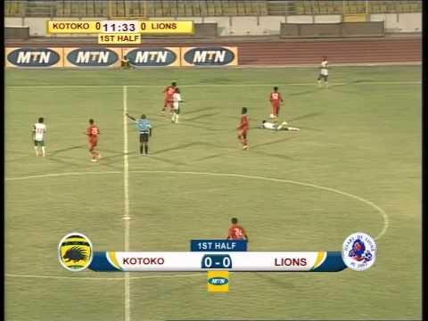 Heart of Lions vs Asante Kotoko 0'-45'