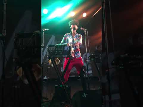 Masego making beats - Drinking Water @ The Wall Taipei, Taiwan Nov 11, 2017.