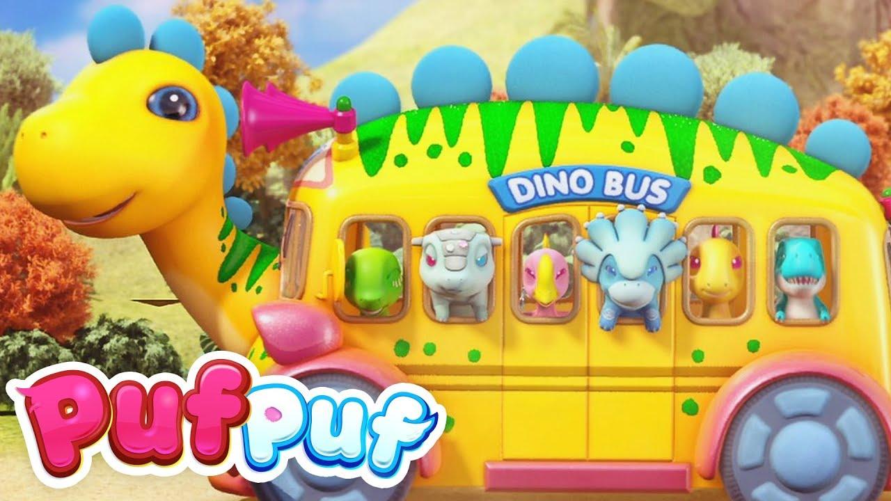 În excursie cu autobuzul - Cântece pentru copii mici Puf Puf