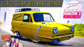 292hp death trap reliant attempting to drift build   forza horizon 3 custom cars 4