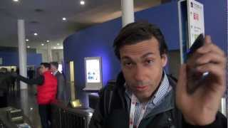 Usando la tecnología NFC como identificación personal en Mobile World Congress