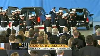 Obama, Clinton honor four Americans killed in Libya