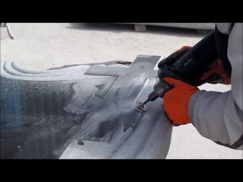 Изготовление гранитного памятника резной формы