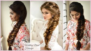 ★ Gorgeous Wedding VOLUMIZED BRAID Hairstyle |  Elegant PROM Hairstyle |  Messy Romantic Braid