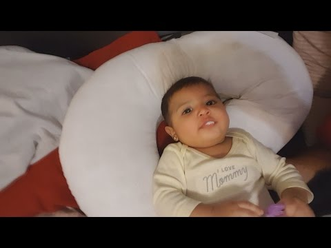 OUR BABY FELL OFF THE BED!! Vlog#50