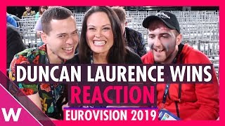 Eurovision 2019: Duncan Laurence Wins - Grand Final Reaction | wiwibloggs