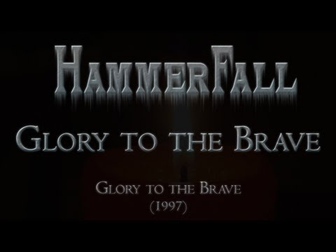 HammerFall - Glory to the Brave (Lyrics English & Deutsch)
