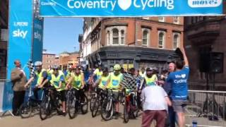 Sky Ride Coventry start 2016