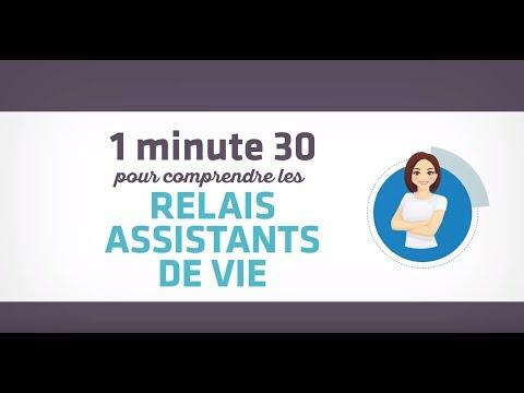 1 minute 30 pour comprendre les RELAIS ASSISTANTS DE VIE