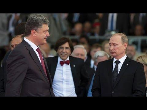 Владимир Путин и Порошенко прикол!