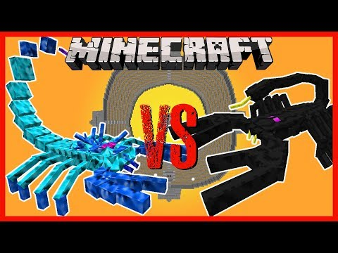 Minecraft - ARCTIC SCORPION VS EMPEROR SCORPION, T-REX, ENDER KNIGHT AND MORE!!