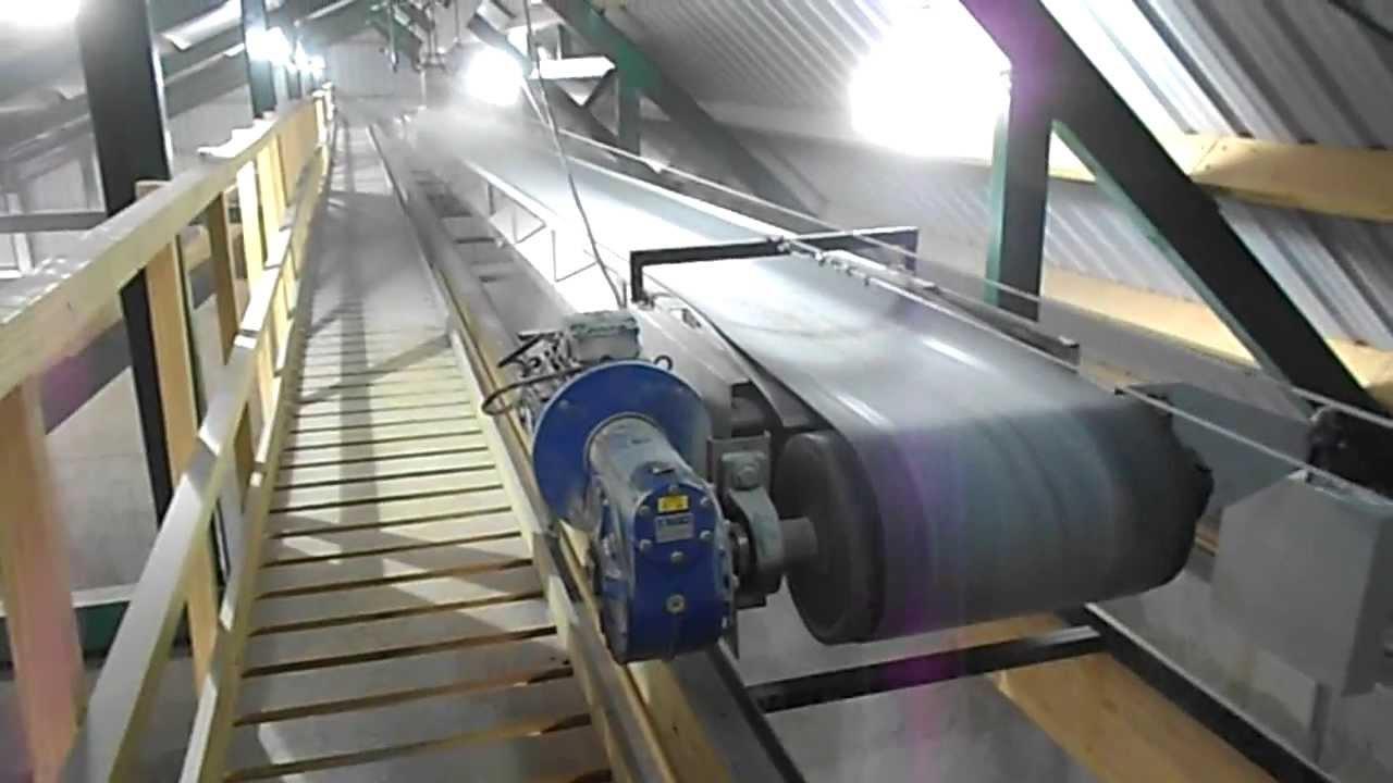 Nrc Fertilizer Belt Conveyor Shuttle Righ Load Youtube