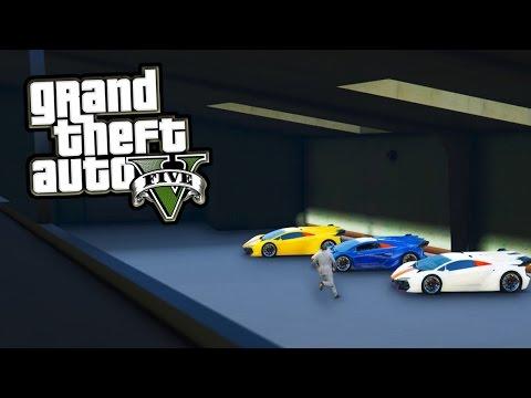 GTA 5 DLC - Secret 40+ Mansion Car Garage in GTA 5! (Finance & Felony DLC News)