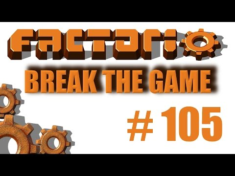 Factorio Break The Game 105 1:1 Circuit Build