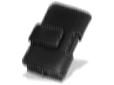 Melkco Tasche Leder Etui cuir ~Samsung I8510 INNOV8 Pouch Type (Black)