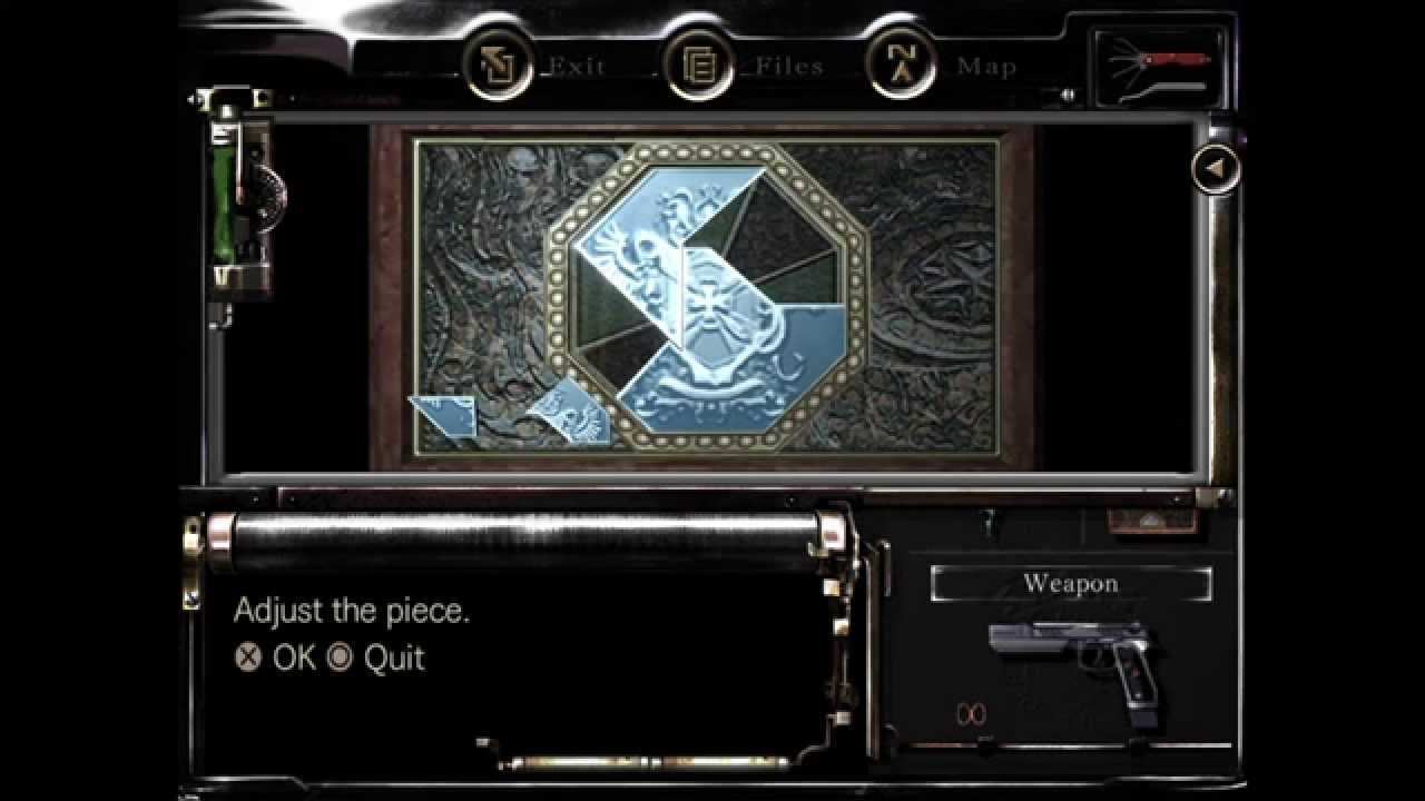 Resident Evil HD Remake Solve The Jewelry Box Puzzle And