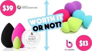 Worth It or Not Wednesday: Beauty Blender Brand VS Cheap Knock Off | KristenLeanne8