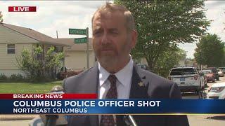 Ohio Attorney General David Yost update on officer being shot in northeast Columbus