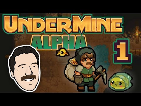 THE BEST NEW ROGUE-LIKE | Let's Play UnderMine (Alpha) - PART 1 | Graeme Games | First Look Gameplay
