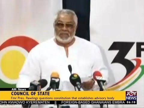 Council of State - AM News on JoyNews (17-8-17)