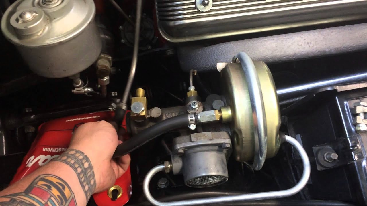1957 Thunderbird power brake installation  YouTube