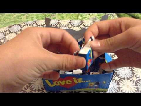 Обзор на упаковку жвачек LOVE IS!