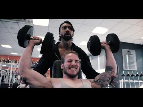 ICN Men's Fitness Athletes Train Shoulders and Arms