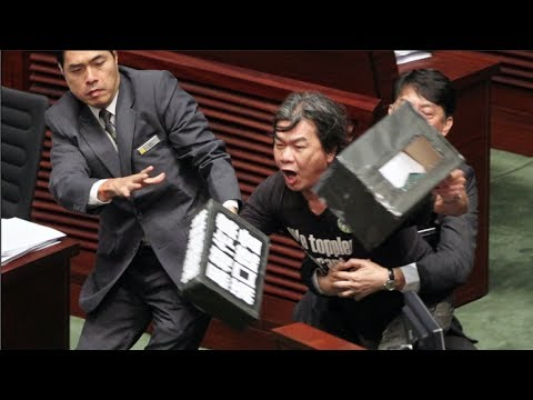 "Hong Kong's Che Guevara ""Long Hair"": Legco is an arena - you are there to kill the bull"
