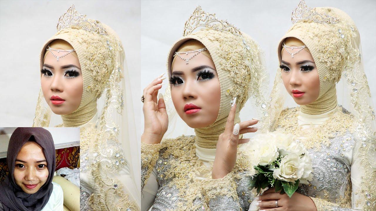 Tutorial Makeup Pengantin Muslim Modern Rias Pengantin Youtube