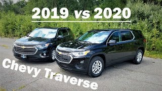 2019 Chevy TRAVERSE vs 2020 Chevy TRAVERSE - 3 BIG DIFFERENCES - Here is what's new!