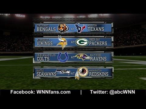 WILD CARD PLAYOFFS: NFL Picks Competition 2013