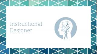 Transitioning from Teaching to Instructional Design 8-8-18
