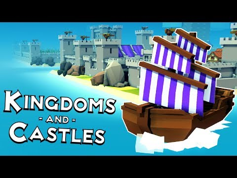 Kingdoms and Castles - Merchant Ships, Dockyards & Whales! - Kingdoms and Castles Gameplay