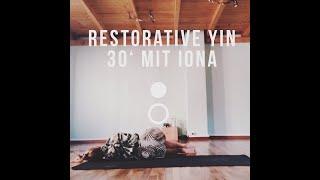 Ausspannen & Eintauchen | 30' Restorative Yin Yoga mit Iona