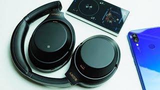 Беспроводные Накладные Наушники Sony WH-1000XM3