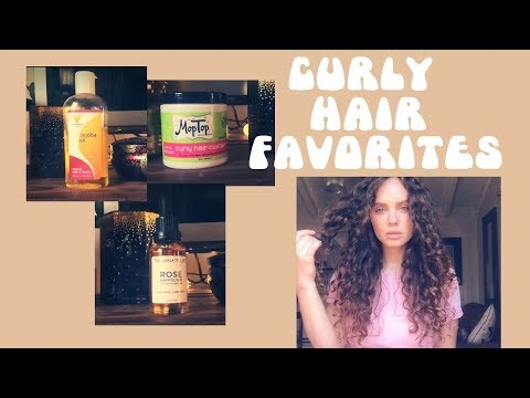 Current Favorite Curly Hair Products!