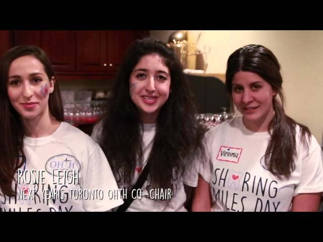 Toronto OHTH's 7th Annual Sharing Smiles Day Video - FULL