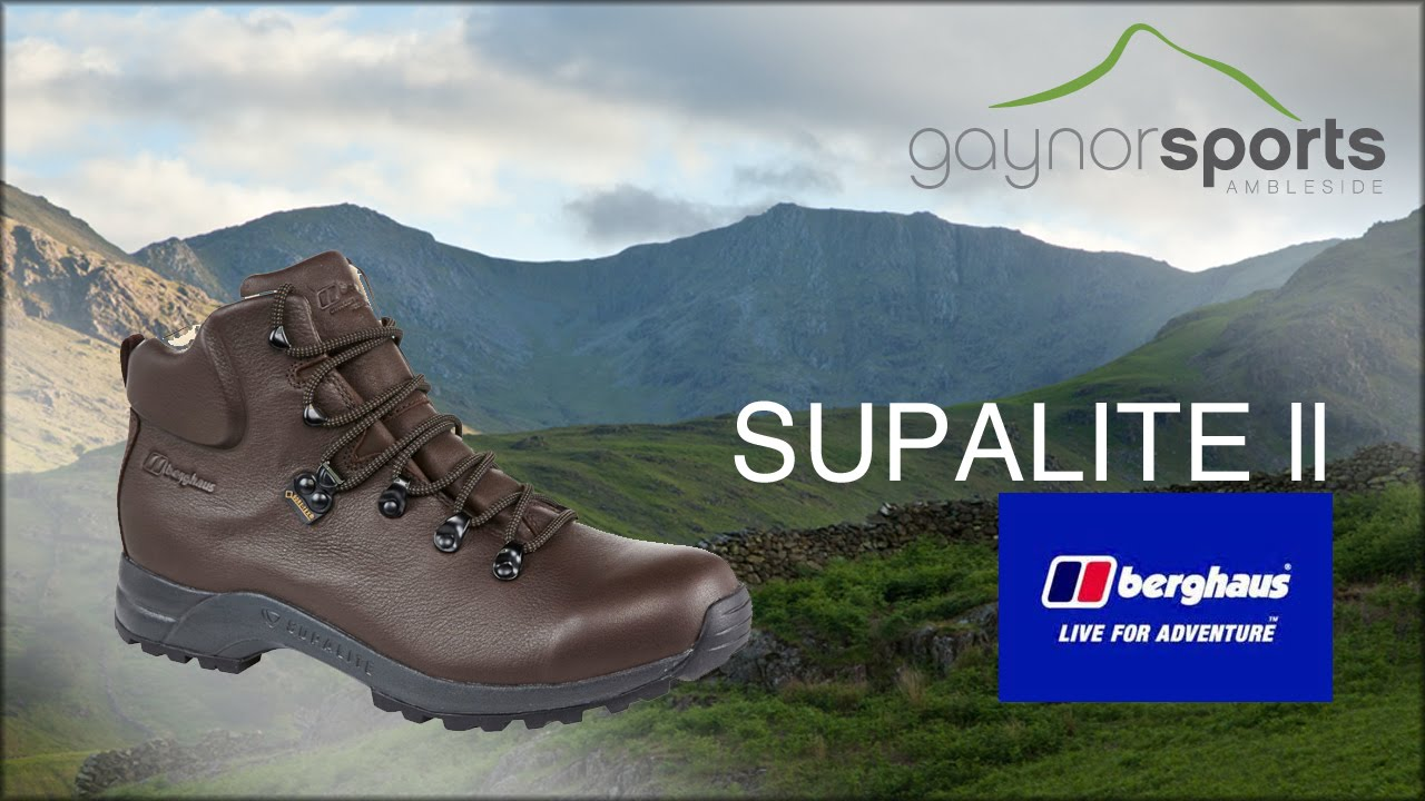 new cheap special section cheapest Berghaus Supalite ll GTX Walking Boot (formerly Brasher). www.gaynors.co.uk