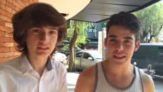 """David Douglas y Sebastián Aguirre te invitan a ver """"Obedien"""