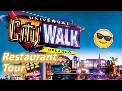 Restaurant Tour of Universal CityWalk Orlando | Universal Studios Dining Plan Options