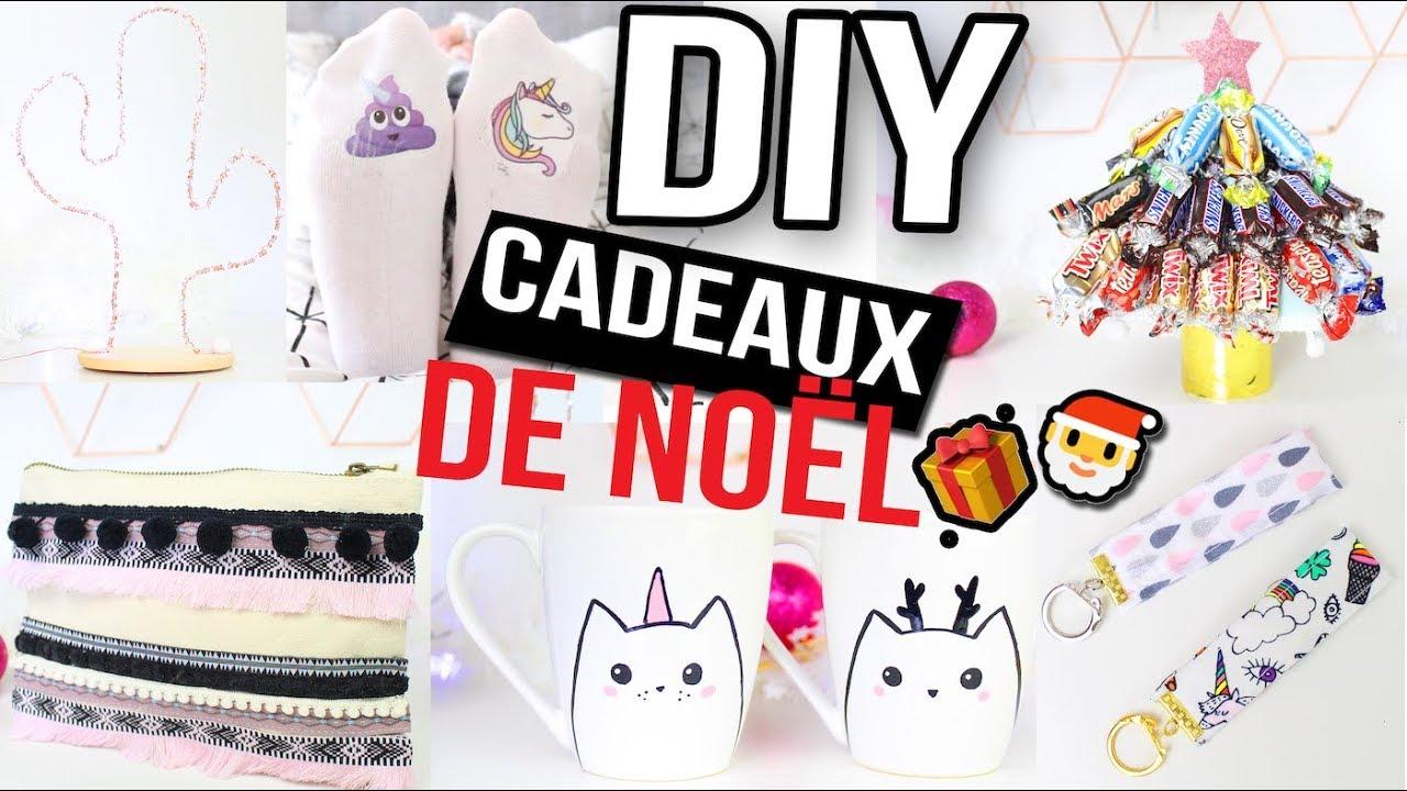DIY NOEL ┋6 IDEES CADEAUX POUR TOUTE LA FAMILLE _ FACILE & PAS CHER ...