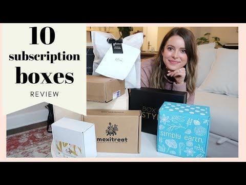 10-unique-subscription-boxes:-honest-unboxing-&-review!