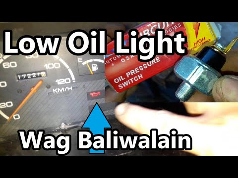 Fix a Low Oil Pressure Light in Your Suzuki F6A Multicab
