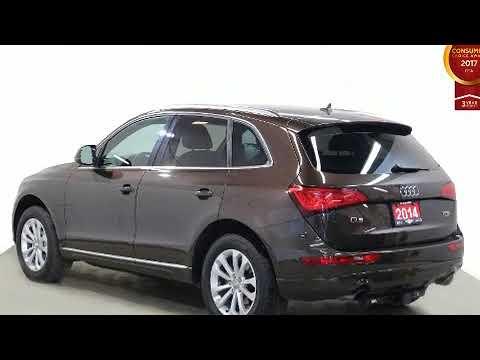 2014 Audi Q5 PROGRESSIVE PKG PANORAMIC ROOF LEATHER