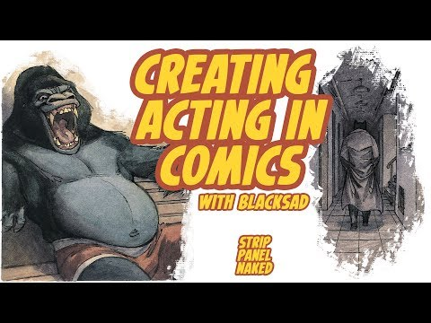 Creating Acting in Comics | Strip Panel Naked
