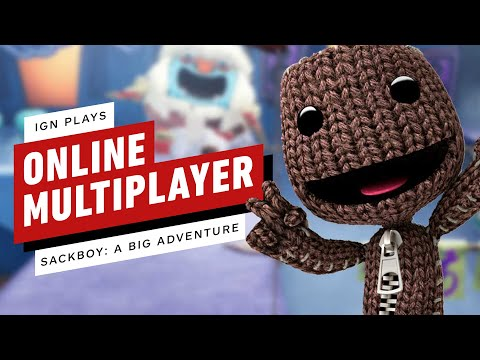 IGN Plays Sackboy: A Big Adventure's Online Multiplayer